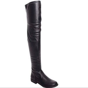 NEW Thigh-High Over-the-Knee Flat Riding Boot